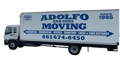 Truck Adolfo and Sons Moving